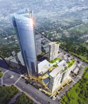 """雨润集团50亿打造""""苏北第一高楼"""""""